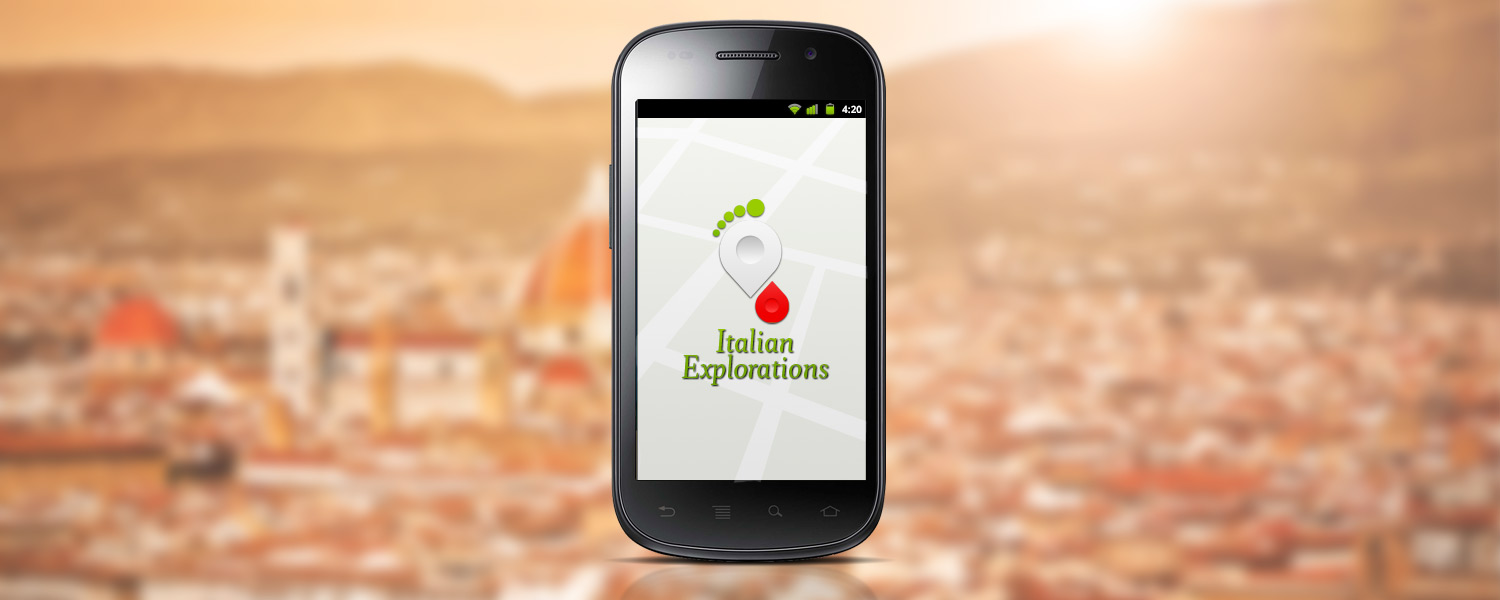 Italian Explorations - Splash screen